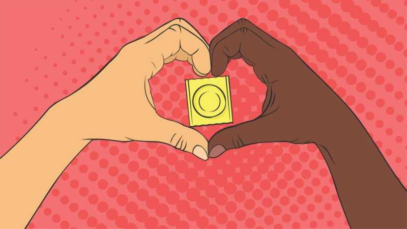 få gratis kondomer