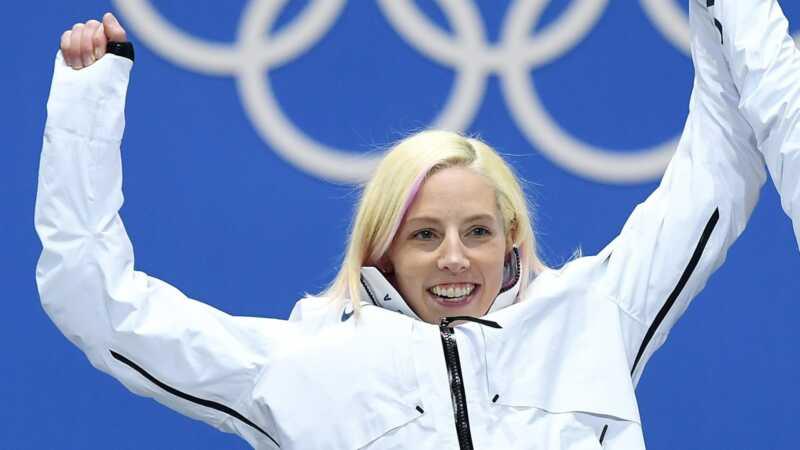 Mūsų olimpinėse komandose buvo viena mama, ir ji tiesiog laimėjo auksą