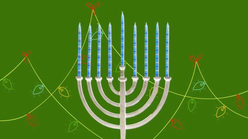 Alleen omdat ik trots joods ben, wil nog niet zeggen dat ik niet van kerstliedjes houd