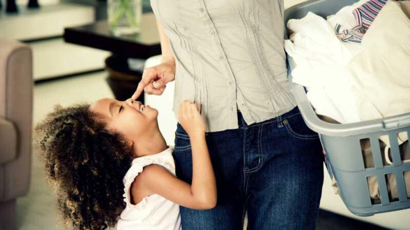 Din rengjøringsrutine skal ta en drastisk sving når du har barn