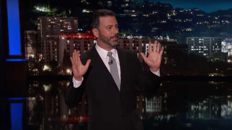 Μετά τον Λας Βέγκας, ο Jimmy Kimmel χρησιμοποιεί τον μονόλογο του αργά τη νύχτα για να ζητήσει δράση