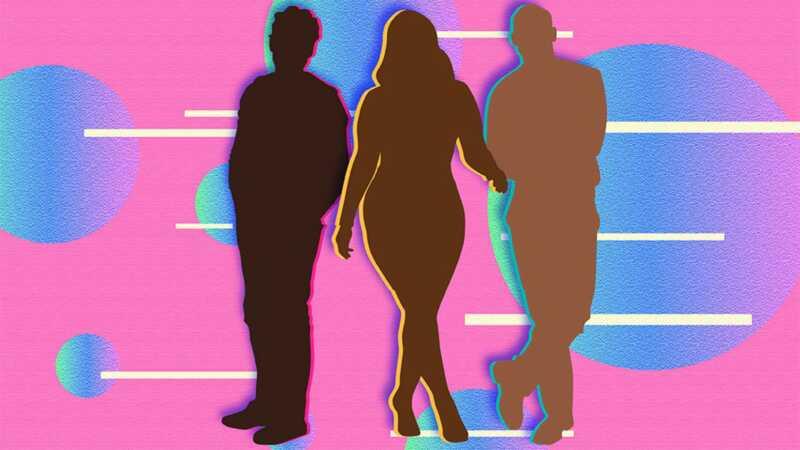 3 moterys, apie ką triadas santykiai yra tikrai patinka