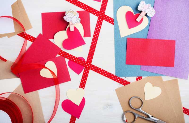 15 hjerte-tema børn håndværk til valentins dag