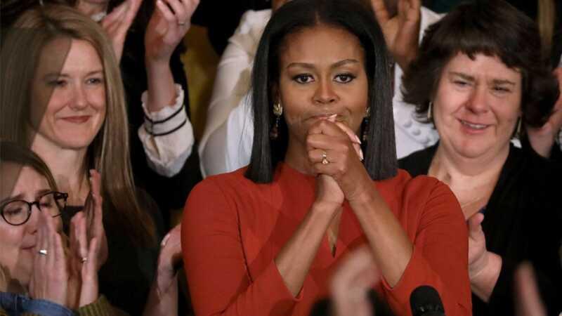 Michelle Obama pristato gražią, emocinę paskutinę kalbą kaip pirmąją ponia