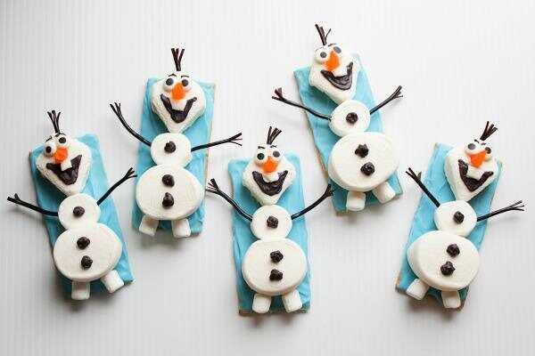 Olaf lumememmade suupisteid