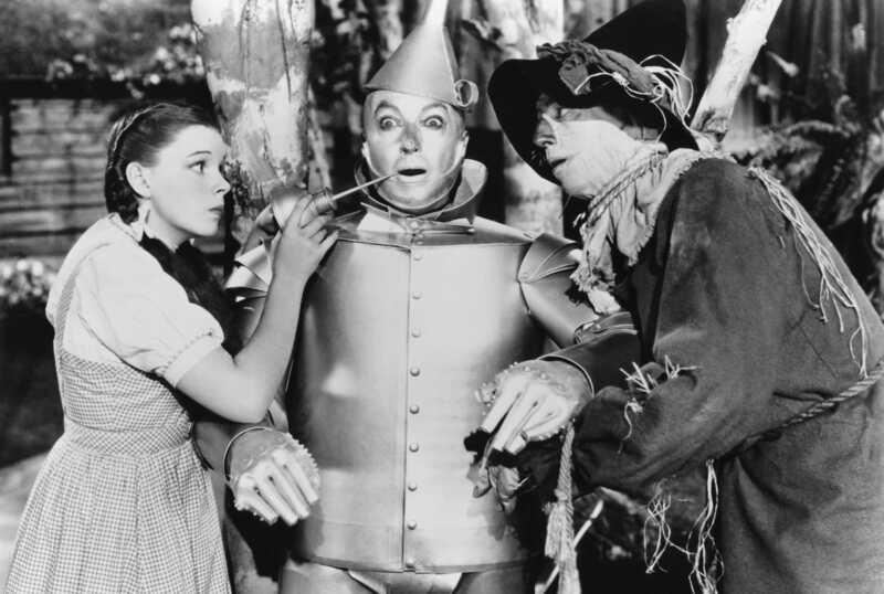 Tamsi ir slapta istorija apie Ozo vedlį