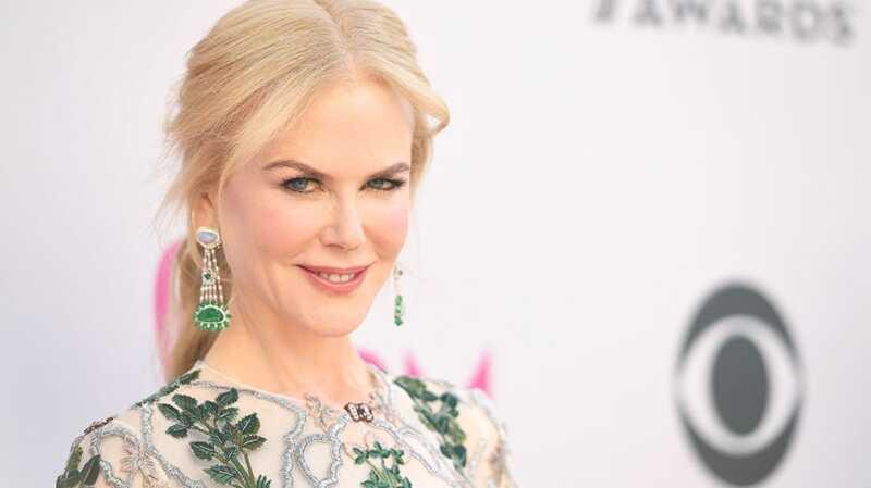 Nicole Kidman išmetė giada de laurentiis šešėlį ant eglės, ir tai buvo viskas
