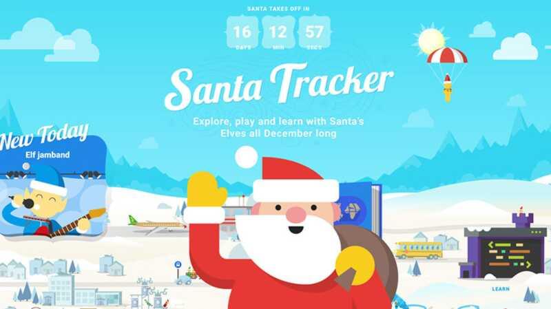 Štai kaip jūsų vaikai gali stebėti Santa, kaip jis pateikia visas savo dovanas