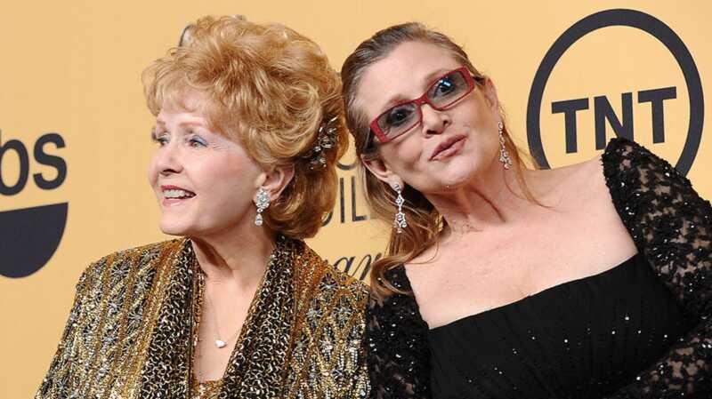Debbie Reynoldso insultas pabrėžia simptomų skirtumus moterims
