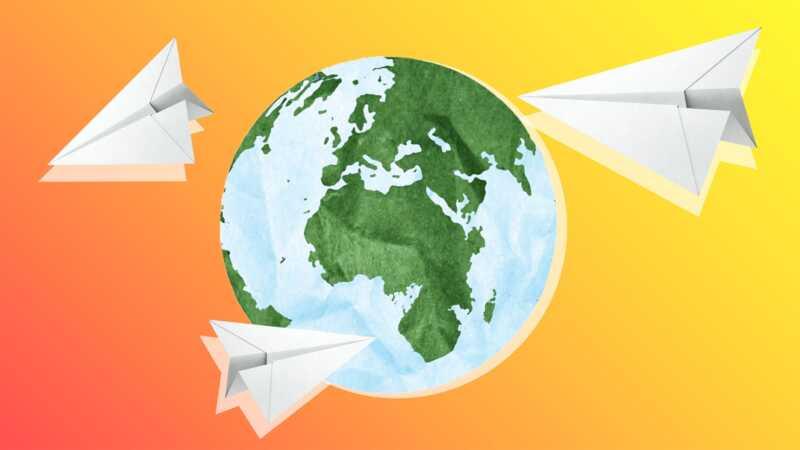 Families die alles op alles zetten om de wereld rond te reizen - met kinderen