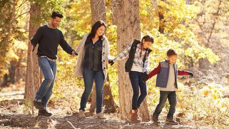 10 načinov, kako naj bo vaša družina aktivna zaradi prekinitve zahvale