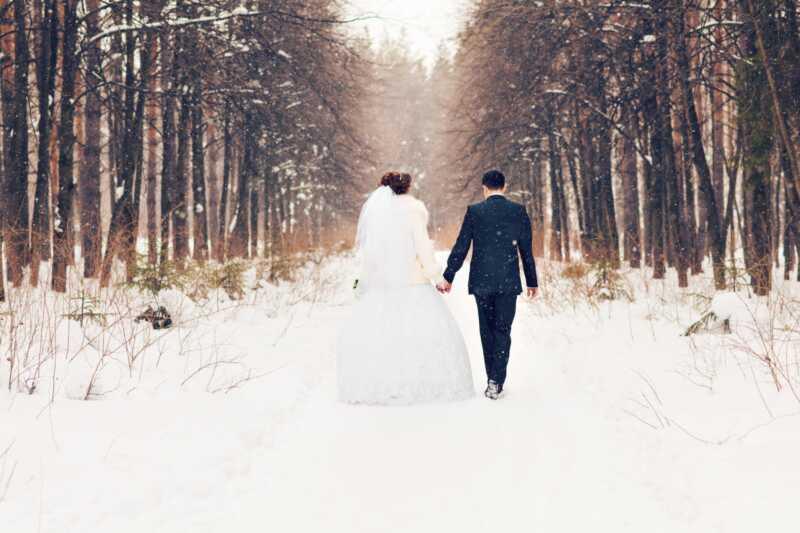 8 põhjused talvised pulmad täitsid täiesti suve tseremooniaid